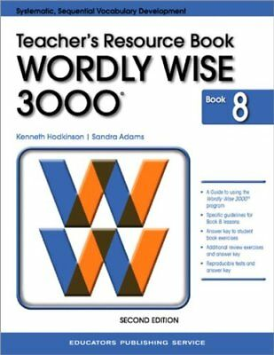 Test Booklet for Wordly Wise 3000, Book 8 Grade 8 by Kenneth Hodkinson