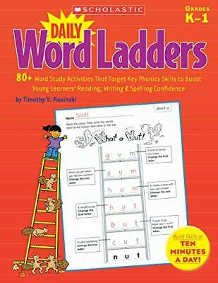 Daily Word Ladders: 80+ Word Study Activities T, -