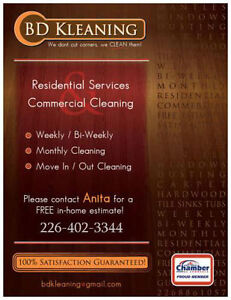 Commercial and Resident Cleaning Sarnia Sarnia Area image 1