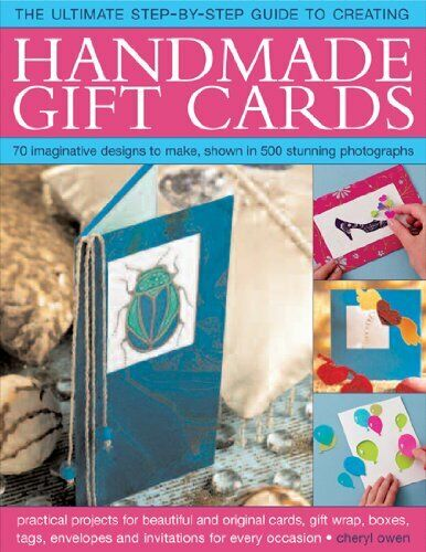 Handmade Gift Cards, Step-by-step Book, Owen 9781844766994 Fast Free Shipping-.