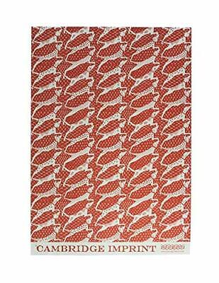 Coral Wrapping Paper ( Sheet of Dogs Coral Luxury Gift Wrap Wrapping Paper Cambridge Imprint)