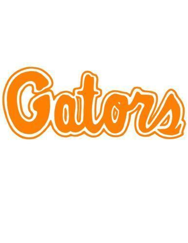 Florida Gator Stickers : Florida gators window decal ebay