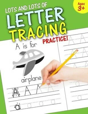 Preschool Kindergarten Writing Practice Workbook Handwriting Letter Tracing - Handwriting Books