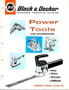 Black Decker Catalog