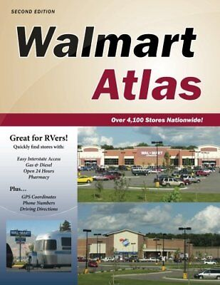 Walmart Atlas, 2nd Edition by Publications, Roundabout (Walmart Atlas)