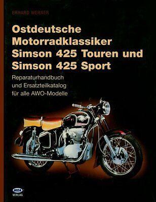 SIMON 425 Sport AWO Reparaturanleitung Reparaturbuch Reparatur-Handbuch Buch