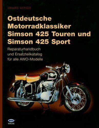 Simson 425 Sport AWO Reparaturanleitung Reparaturbuch Reparatur-Handbuch Buch