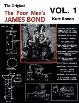 The Poor Man's James Bond (vol. 1) by Saxon, Kurt.