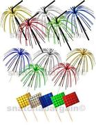 Cocktail Stick Flags