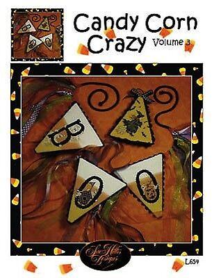 10% Off Sue Hillis Designs Counted X-stitch chart - Candy Corn Crazy Volume 3