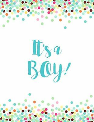 Baby Shower Sign In Book (It's a Boy: Baby Shower Guest Book Sign In/Guest Registry with Gift)