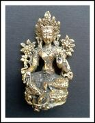 Buddha Figur Messing
