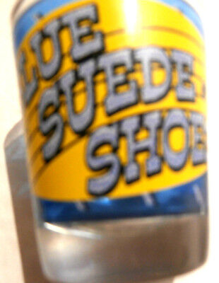 Elvis Blue Suede Shoes Shot Glass and Grand Ole Opera Nashville Shot Glass