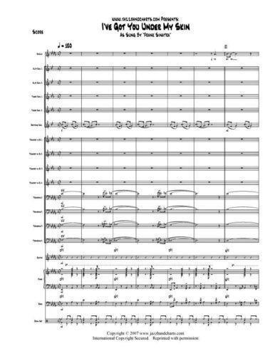 big band vocal charts pdf