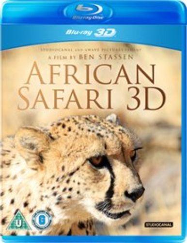 African Safari 3D Blu-ray NEW