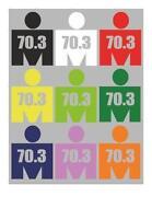 Ironman Triathlon Sticker