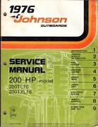 Johnson Service Manual