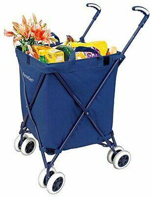 Folding Shopping Cart - Versacart Transit Utility Cart - Transport Up To 120...