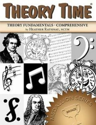 Theory Time Medallion Series Bronze Book - Music Theory Workbook