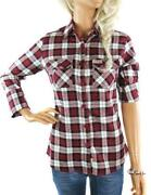 Womens Green Checked Shirt