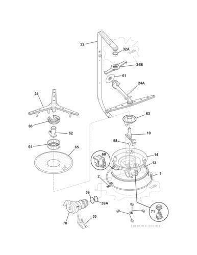 kenmore dishwasher parts ebay. Black Bedroom Furniture Sets. Home Design Ideas