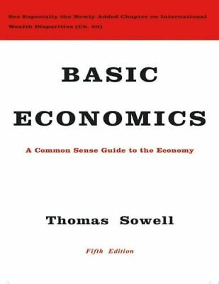 Basic Economics 5th Edition by Thomas Sowell ( fast delivery )