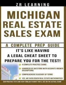 Michigan Real Estate Sales Exam by Learning LLC, Zr -Paperback