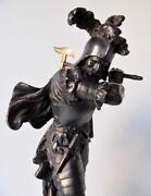 Antique Spelter Figures