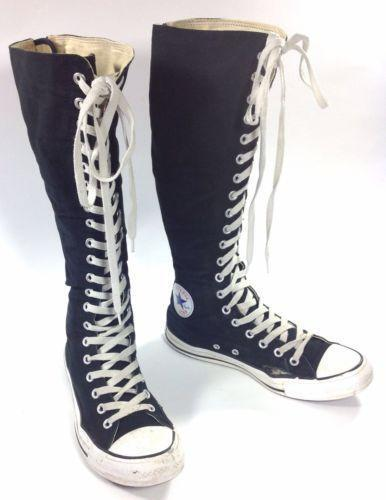Knee High Converse Shoes Ebay