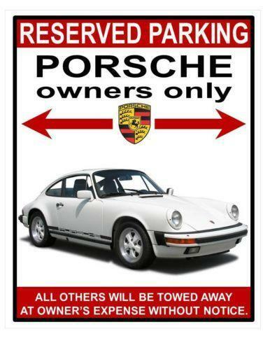 Porsche Parking Only Parts Amp Accessories Ebay