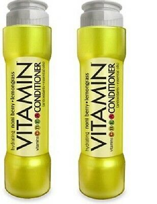 Lot of 2 New Vitamin Hydrating Noni Berry Lemongrass Conditioner 13 fl oz x - Hydrating Noni Berry