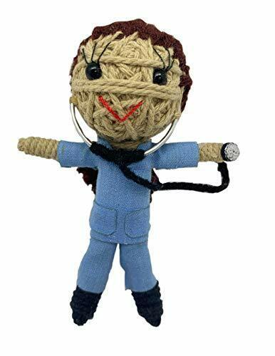 Kamibashi Scrubs The Doctor Girl Original String Doll Gang Keychain Clip