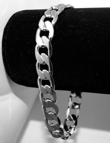 Mens Platinum Bracelet   eBay Platinum Bracelets For Men