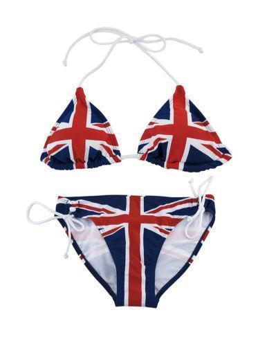 England flag bikini