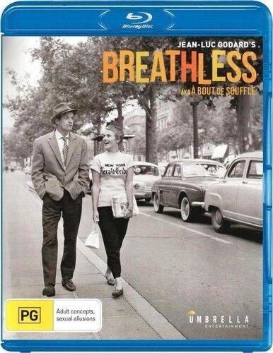 Breathless (2014, Blu-ray NEW)