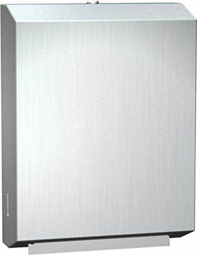 NEW! Surface Mount Stainless Steel Paper Towel Dispenser Multi-Fold ASI0210