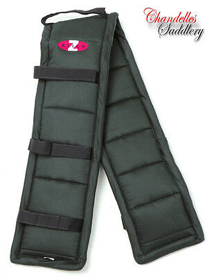 Zilco Driva Puffer Pad Green Carriage Driving Harness Saddle Pads Liner