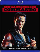 COMMANDO BLU RAY LIKE NEW SCHWARZENEGGER