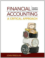 Financial Accounting: A Critical Approach without Connect Card
