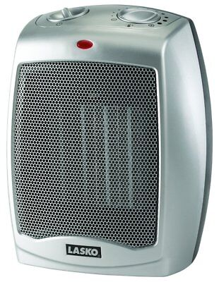 Lasko 754200 Ceramic Heater with Adjustable Thermostat Space Heaters, New
