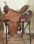 Used Barrel Saddle