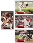 2012 Topps Red Sox Team Set