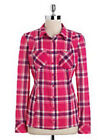 GUESS Plaid Blouses for Women