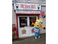 American themed diner & milkshake bar business for sale