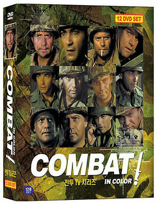 COMBAT (1966) TV Series - Vic Morrow 12-Disc BOX SET DVD *NEW