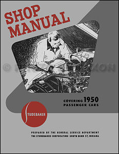 STUDEBAKER SHOP MANUALS