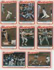 Fleer World Series Cards