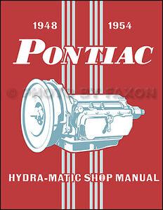 Pontiac-HydraMatic-Transmission-Shop-Manual-1954-1953-1952-1951-1950-1949-1948