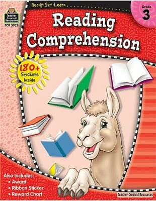 Ready-Set-Learn: Reading Comprehension Grd 3 Nonfiction Reading Comprehension Set