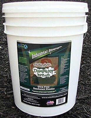 Dumpster Breath Heavy Duty Commercial Odor Control Pail Deodorant 5gallon 45lbs